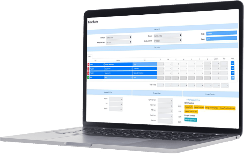 Timesheets for SharePoint